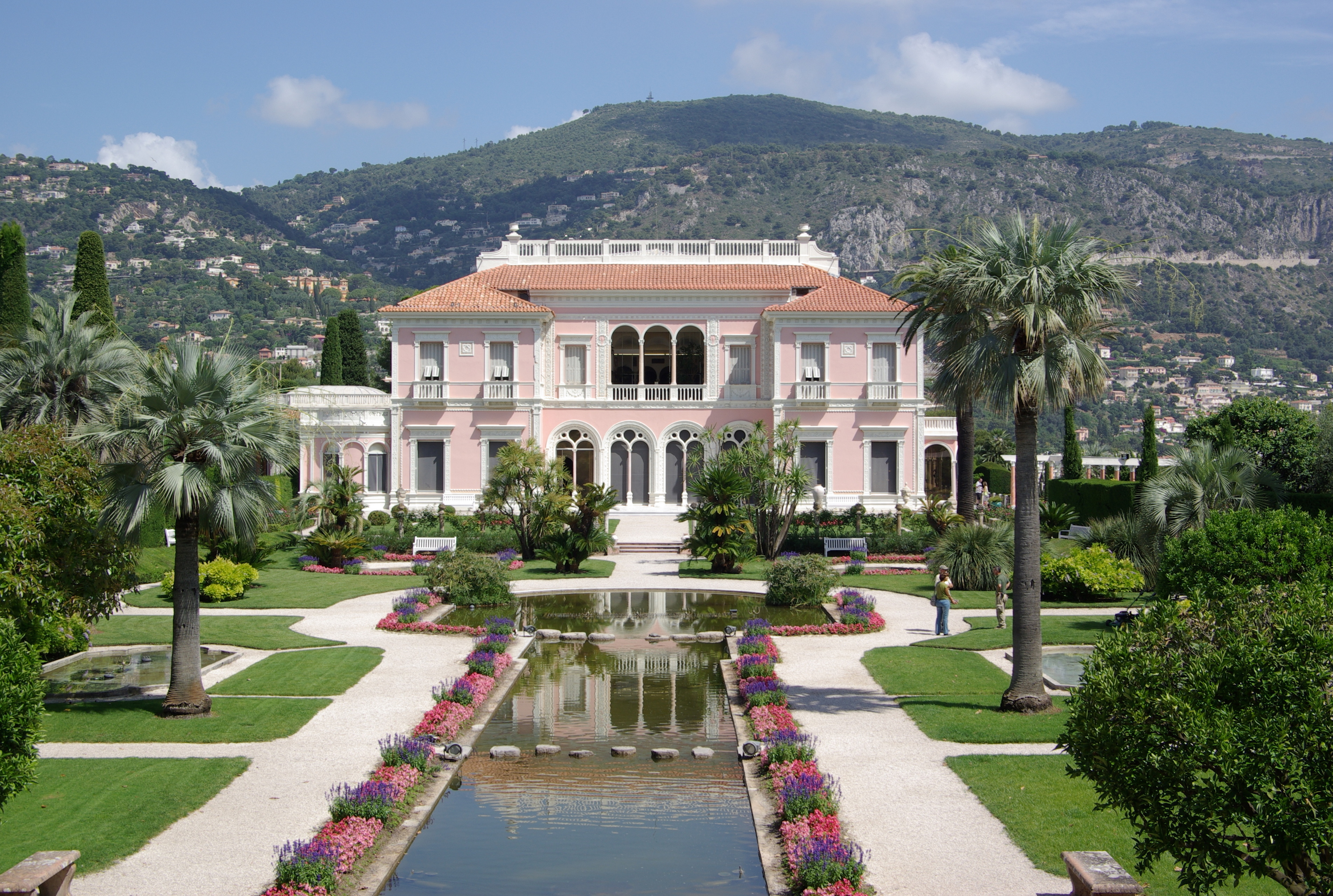 La villa Rothschild, un des plus beaux palais de la Côte d'Azur
