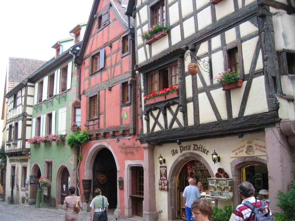 Les plus beaux villages alsaciens