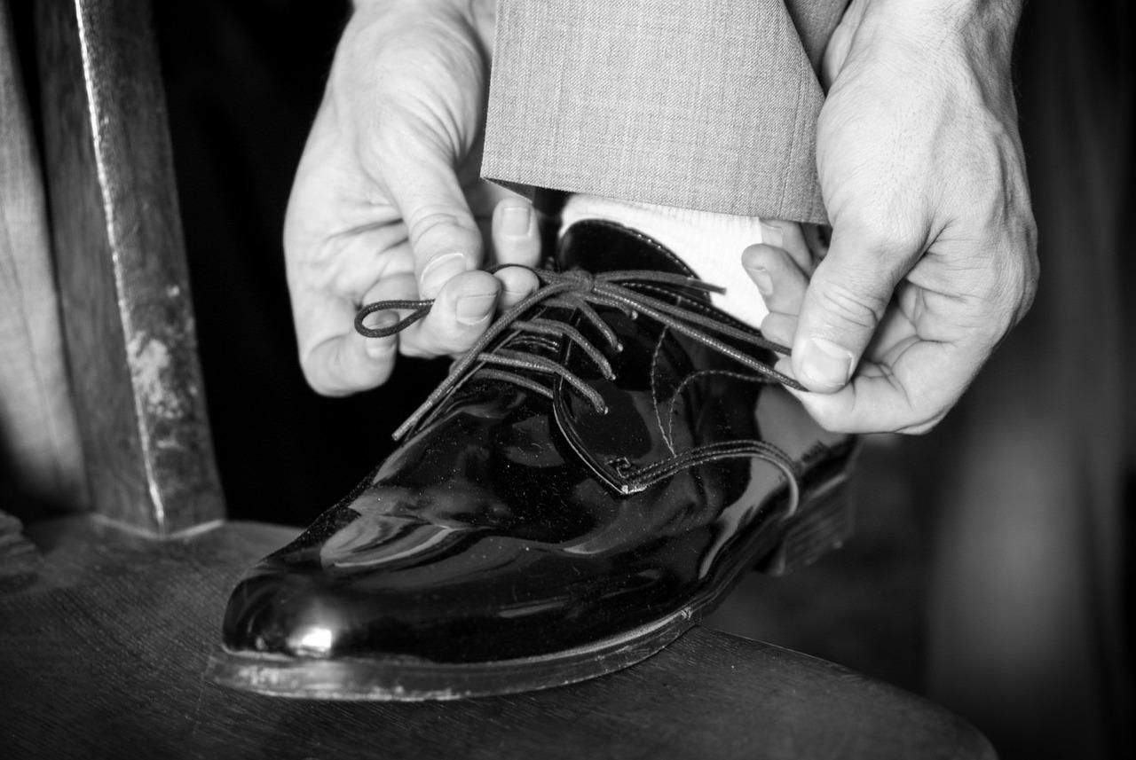 Chaussures de luxe à la frontière italienne