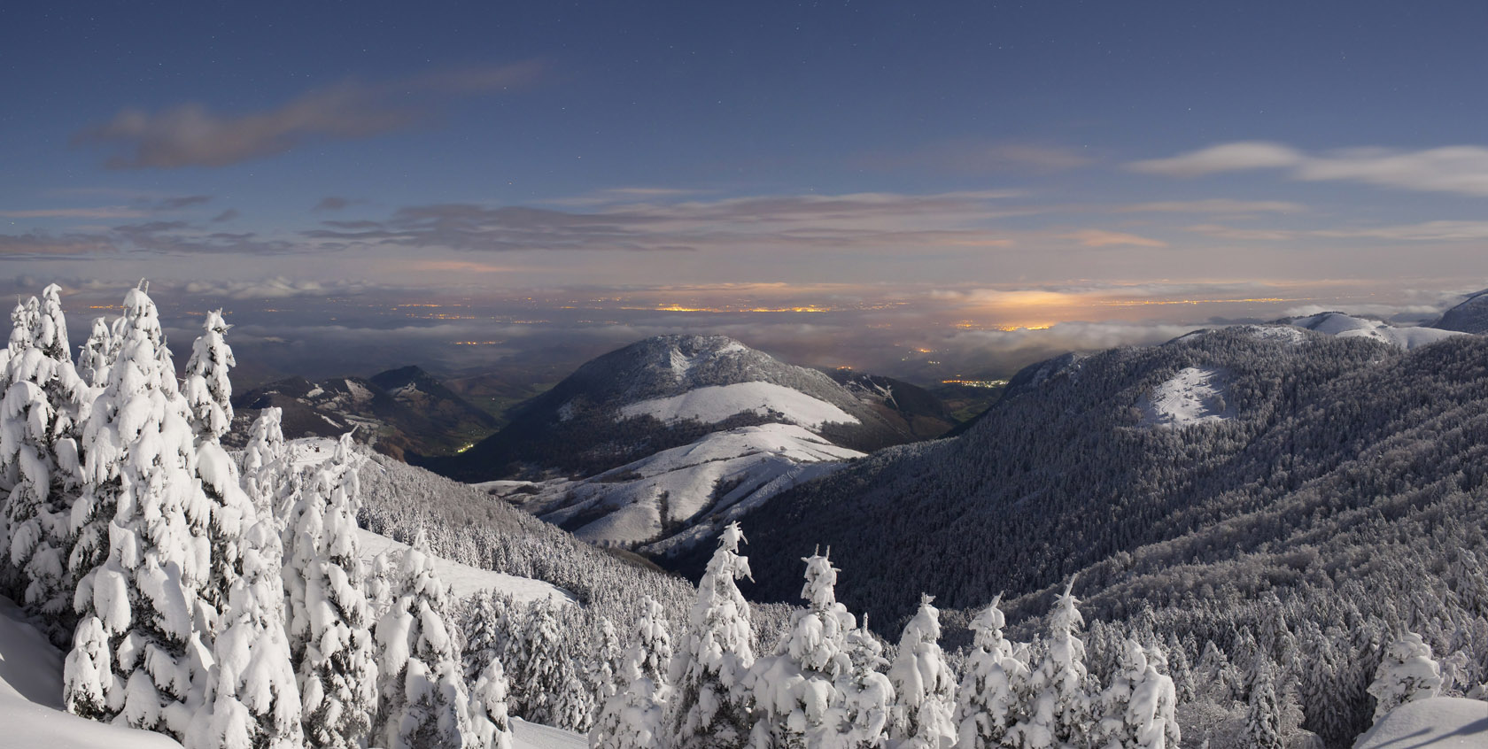 Les meilleures pistes de ski dans le massif central