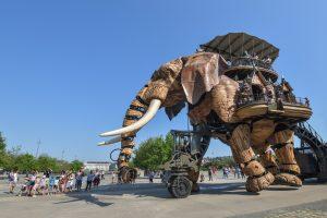 L'éléphant mécanique de Nantes