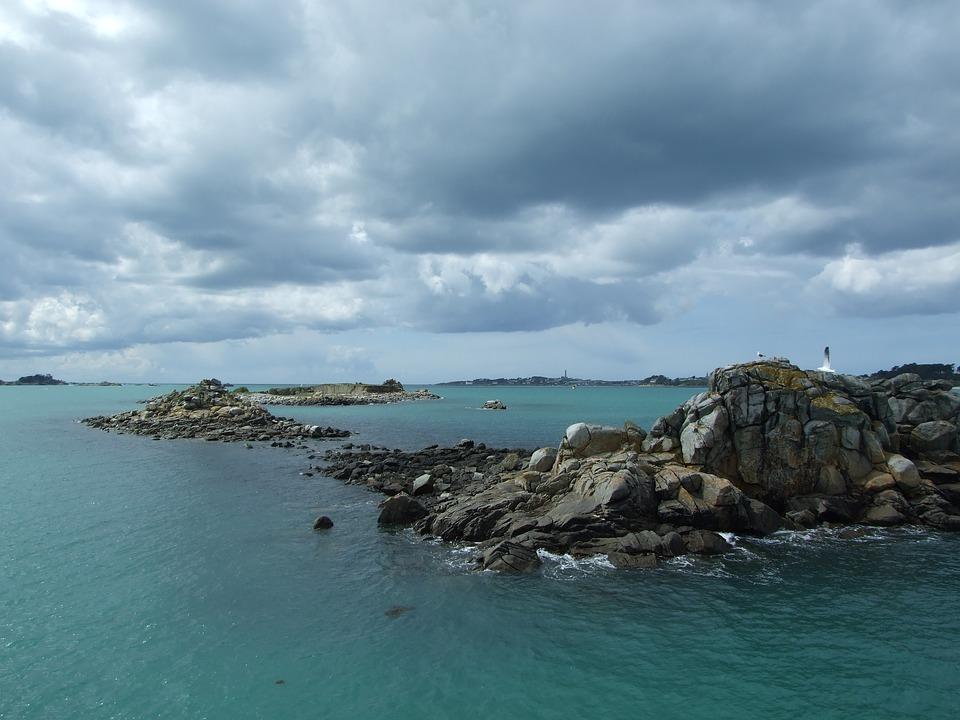 Pointe du Raz dans le Finistère en Bretagne