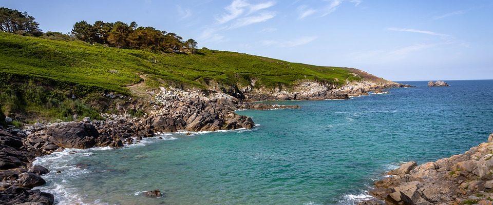 Plage en Bretagne, dans le Finistère