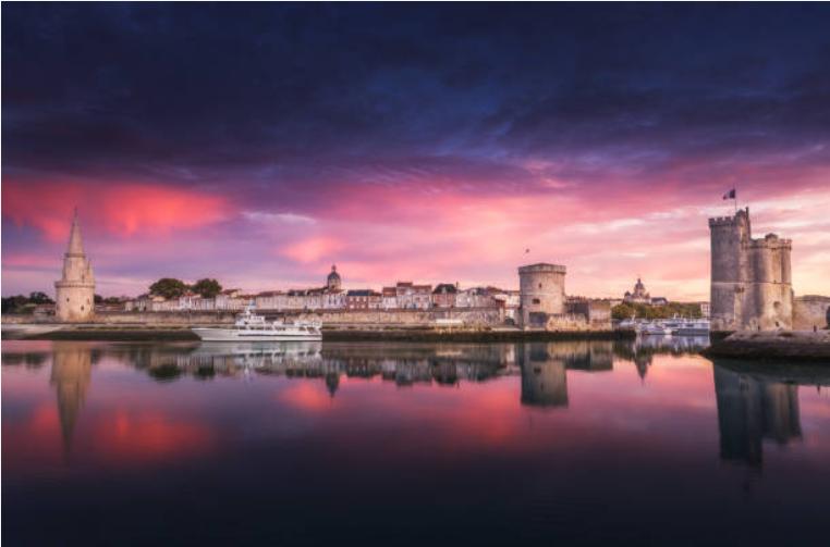 Panorama de La Rochelle et de ses tours