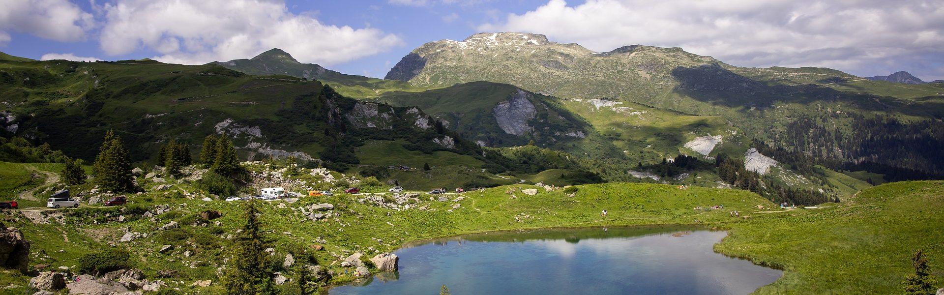 Le Lac des Fées en Savoie
